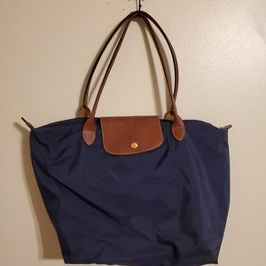 Longchamp | Blue Medium Tote